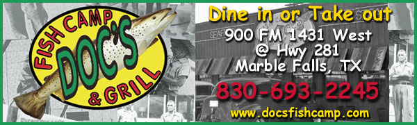 Doc's Fish Camp & Grill - Marble Falls, Texas