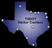 TxDOT Visitor Information Centers around Texas