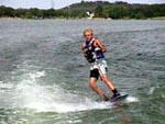 Wakeboarding on Lake LBJ