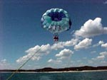 Parasailing on Lake LBJ